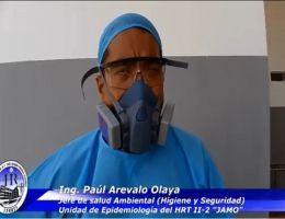 """ÁREA SALUD AMBIENTAL DEL HRT II-2 """"JAMO"""" PRIORIZA EL MANEJO INTEGRAL DE LOS RESIDUOS HOSPITALARIOS"""