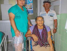 El HRJT dona prótesis para pacientes que han sufrido de amputación de piernas y/o brazos