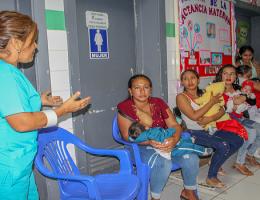 El Departamento de Pediatría del HRJT celebra la semana de la lactancia materna