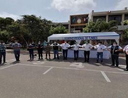 VISITA DEL MINISTRO DE RELACIONES EXTERIORES AL DEPARTAMENTO DE TUMBES CON AYUDA PARA ENFRENTAR EL COVID-19