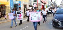 marcha contra el feminicidio