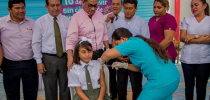 lanzamiento de vacunación