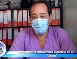 """INICIA APERTURA PROGRESIVA DE CONSULTORIOS EXTERNOS EN H.R.T. II-2 """"JAMO"""""""