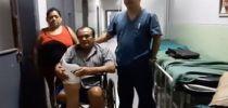 El HRJT entrega una prótesis a un hombre que sufrió de amputación