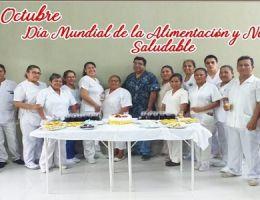 """AL CELEBRAR EL DÍA MUNDIAL DE LA ALIMENTACIÓN.  HRT II 2 """"JAMO"""" LLEVÓ A CABO LA FERIA INFORMATIVA Y NUTRICIONAL."""