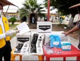 LEONES DE TUMBES DAN IMPORTANTE DONACIÓN FRENTE AL CORONAVIRUS
